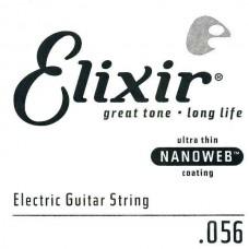 Elixir 15256 NanoWeb струна для электрогитары .56