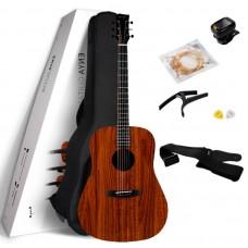 ENYA ED-X1+ - акустическая гитара, дредноут