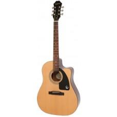 EPIPHONE AJ-100CE (PASSIVE) NATURAL - электроакустическая гитара