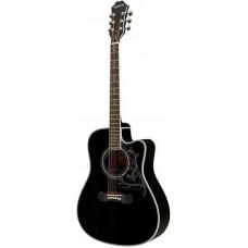 EPIPHONE Dave Navarro 'Jane' Ebony электроакустическая гитара, модель Дэйва Наварро