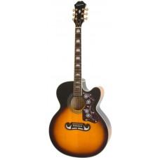 EPIPHONE EJ-200CE VINT. SUNBURST GLD - электроакустическая гитара