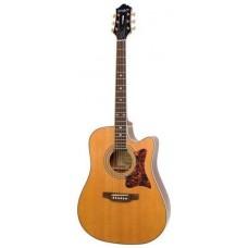 EPIPHONE MASTERBILT DR-500MCE NATURAL - электроакустическая гитара