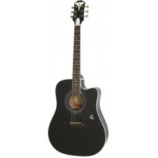 EPIPHONE PRO-1 ULTRA Acoustic/Electric Ebony - электроакустическая гитара