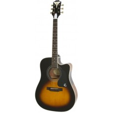 EPIPHONE PRO-1 ULTRA Acoustic/Electric Vintage Sunburst - электроакустическая гитара