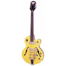 EPIPHONE WILDKAT ANTIQUE NATURAL W/BIGSBY VIBROTONE TREMOLO - полуакустическая гитара