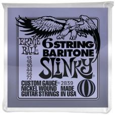 ERNIE BALL 2839 - струны для 6-струнной бас-гитары (72-56-44-30-18p-13p)