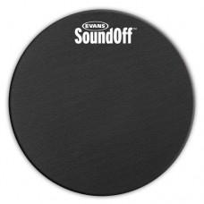 EVANS SO-14 Sound Off накладка на том и малый 14