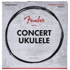 FENDER 90C CONCERT UKULELE STRINGS комплект струн для концерт укулеле