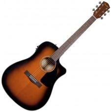 FENDER CD-60CE DREADNOUGHT BROWN SUNBURST W/FISHMAN® MINIQ PREAMP - электроакустическая гитара