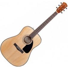 FENDER DG-60 DREADNOUGHT NATURAL - акустическая гитара