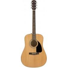 FENDER FA-115 DREADNOUGHT PACK, NAT комплект: акустическая гитара, струны, ремень, медиаторы