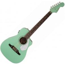 FENDER MALIBU CE Surf Green - электроакустическая гитара