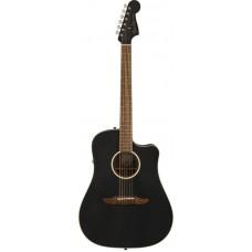 Fender Redondo Special MBK w/bag Электроакустическая гитара с чехлом