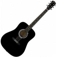 FENDER SQUIER SA-105 BLACK - акустическая гитара