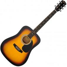 FENDER SQUIER SA-105 SUNBURST - акустическая гитара