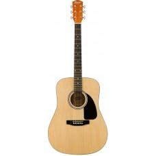 FENDER SQUIER SA-150 DREADNOUGHT, NAT - акустическая гитара
