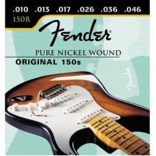 FENDER STRINGS NEW ORIGINAL 150R PURE NCKL BALL END 10-46 струны для электрогитары