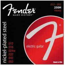 FENDER STRINGS NEW SUPER 250H NPS BALL END 12-52 струны для электрогитары