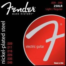 FENDER STRINGS NEW SUPER 250LR NPS BALL END 9-46 струны для электрогитары