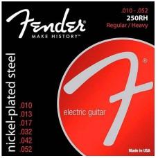 FENDER STRINGS NEW SUPER 250RH NPS BALL END 10-52 струны для электрогитары