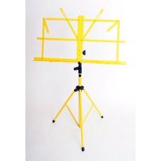 FLEET FLT-MS1y Пюпитр, желтый, складной, с чехлом