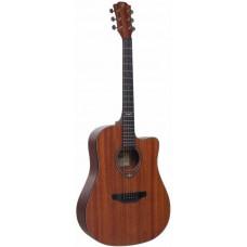 FLIGHT D-165C SAP - акустическая гитара с вырезом, сапеле