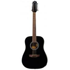 FLIGHT D-200/12 BK EQ - 12-ти струнная гитара
