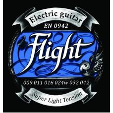 FLIGHT EN0942 струны для электрогитары, 09-42