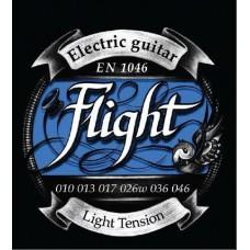 FLIGHT EN1046 - струны для электрогитары, 10-46