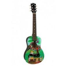 FLIGHT F-101 DBL - детская гитара с металлическими струнами