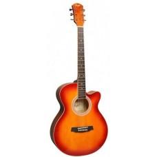 FLIGHT F 130 CS - фолк гитара с металлическими струнами