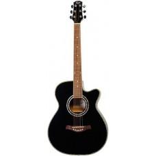FLIGHT F-230C BK - фолк гитара