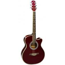 FLIGHT F-230C WR - фолк гитара с металлическими струнами