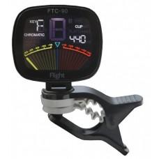 FLIGHT FTC-90 - хроматический тюнер-прищепка