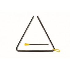 FLT-T04 Треугольник металлический диаметр 8мм, с палочкой.