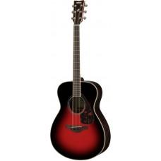 YAMAHA FS830 Dusk Sun Red акустическая гитара
