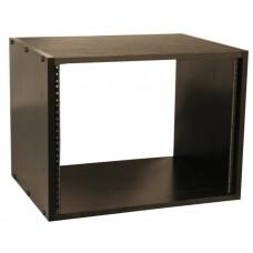 GATOR GR-STUDIO-8U - студийный рэковый кабинет 8U, МДФ ламинат, стальные рельсы, вес 11,78кг