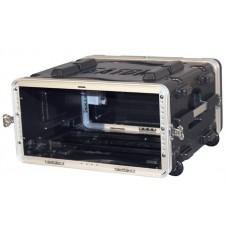 GATOR GRR-4L - рэковый кейс на 4U, стальные рельсы, глубина 19