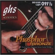 GHS DDS325 - струны для акустической гитары, (11,5-54)