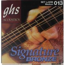 GHS LJ40M - струны для акустической гитары
