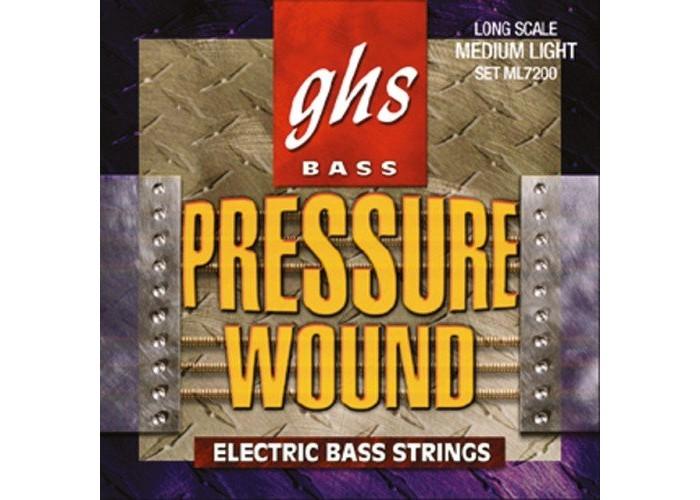 GHS ML7200 - струны для бас-гитары (44-102)