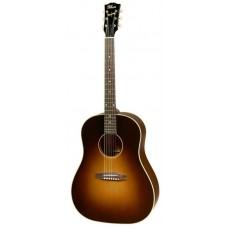 GIBSON 2016/2017 J-45 True, Vintage Sunburst Hand Rubbed акустическая гитара, кейс