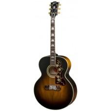 GIBSON 2018 SJ-200 Vintage Vintage Sunburst - акустическая гитара, кейс