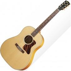 GIBSON J-35 Antique Natural - электроакустическая гитара с кейсом