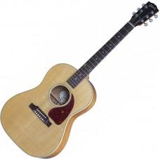GIBSON LG-2 AMERICAN EAGLE ANTIQUE NATURAL - электроакустическая гитара с кейсом