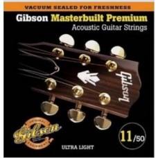 GIBSON SAG-MB11 MASTERBUILT PHOSPHOR BR .011-.050 струны для акустической гитары