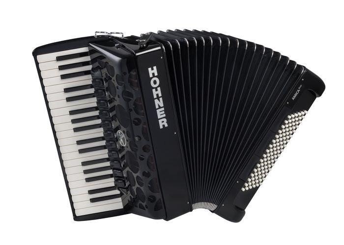 HOHNER Amica Forte IV 96 Black (A38221) - аккордеон 7/8