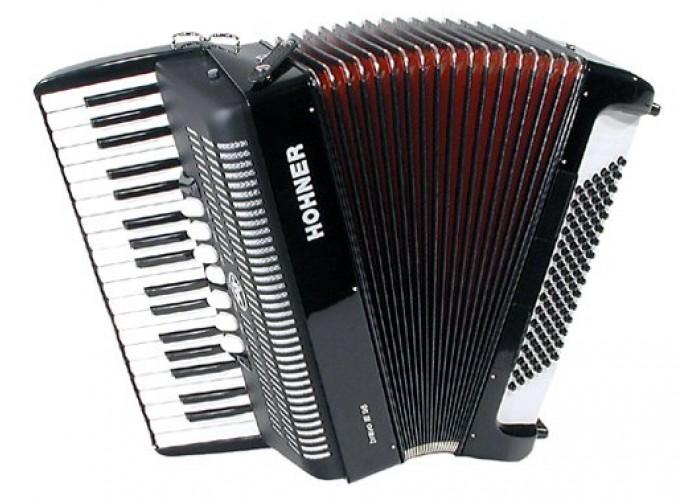 HOHNER Bravo III 96 (A1672/4072) black - аккордеон 7/8, 3-х голосный,