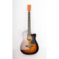 HOMAGE LF-3800CT SB Фольковая гитара вырез