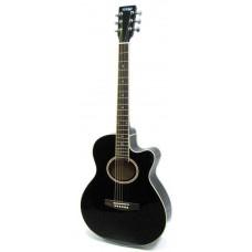 HOMAGE LF-401C B Фольковая гитара с вырезом